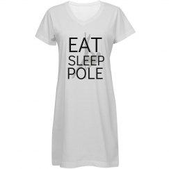 Eat.Sleep.Pole Gown