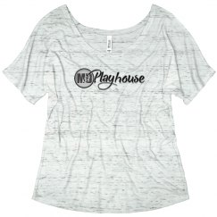 Ladies Slouchy Tee M&D