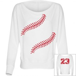 Softball Yellow Trendy Softball Fashion Top Mom or Fan