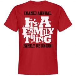 annual family reunion - Family Reunion Shirt Design Ideas