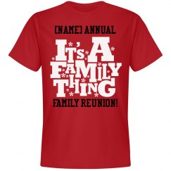 Custom Family Reunion T Shirts Hoodies