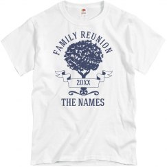 Custom Family Reunion Design