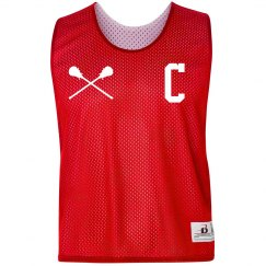 Custom Captain's Jersey Lacrosse Pinnie