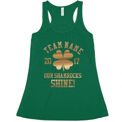 Shiny St Pats Shamrock Team