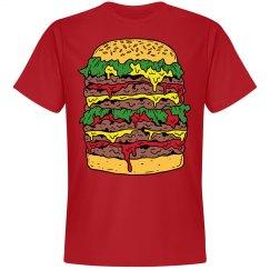 Big Messy Cheeseburger