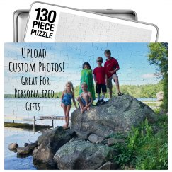 Custom Jigsaw Puzzle Gift With Box