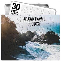 Custom Travel Memory Photo Gift