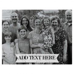 Custom Family Reunion Photo Gift