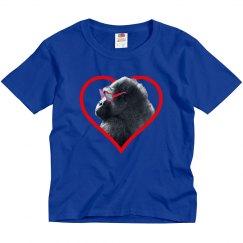 Gorilla Heart Boy's