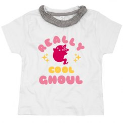 Toddler Ruffle Neck Tee
