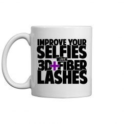 Improve your selfies coffee mug