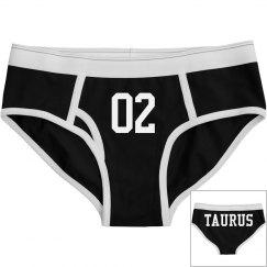 Taurus Sporty Zodiac Underwear