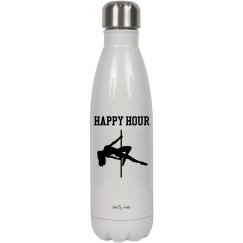 Happy Hour 17oz (500ml) Stainless Steel Water Bottle