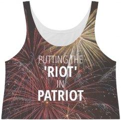 July 4th Fireworks Riot