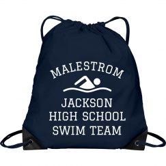 Simple Custom Swim Team Design