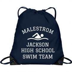 Simple Custom Swim Team Design