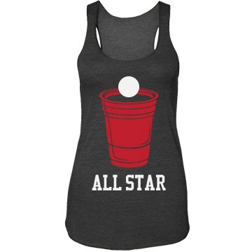 A Beer Pong All-Star