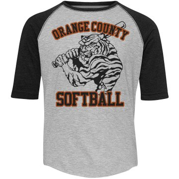 A Big Tiger Softball Fan