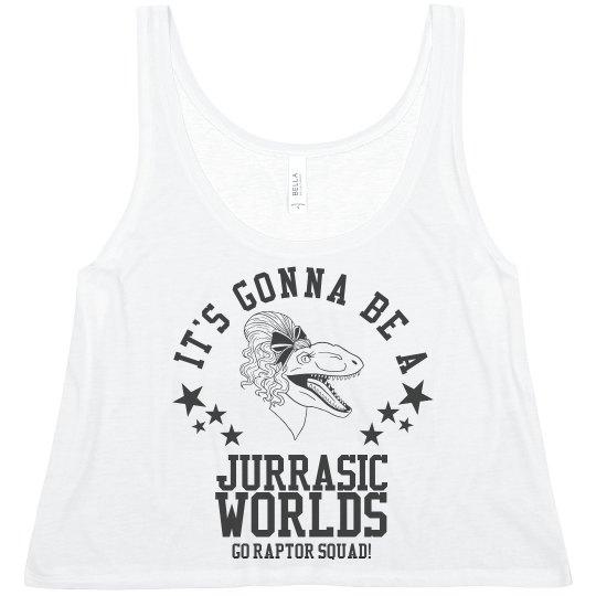 A Cheer Jurassic Worlds