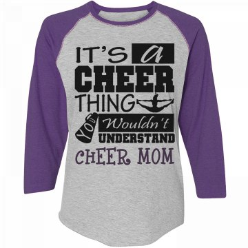 A Cheer Thing Mom Tee