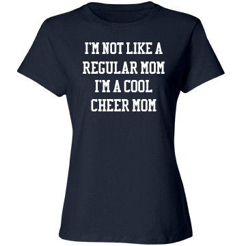 A cool cheer mom
