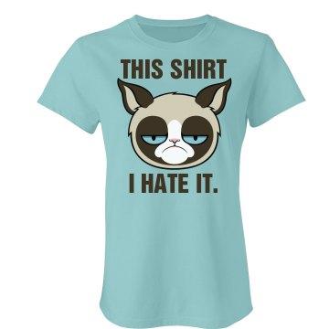 A Grumpy Cat Graphic Tee