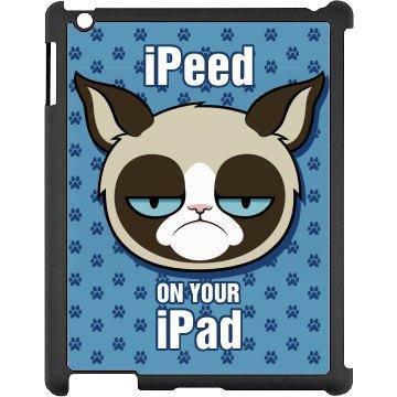 A Grumpy Cat Hates iPads