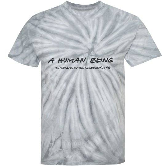 A human, being