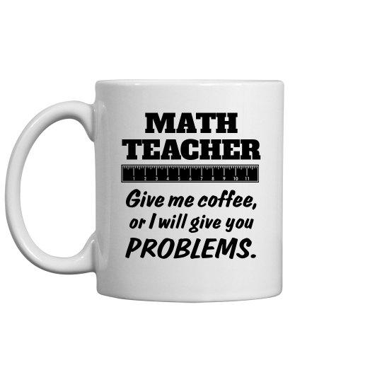 A Math Teacher's Problem