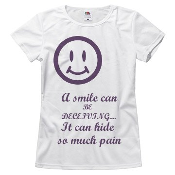 A smile can be deceiving