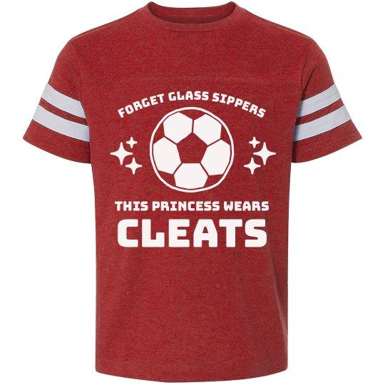 A Soccer Princess Wears Cleats