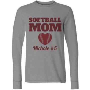 A Softball Mom's Pride and Love