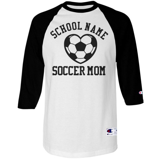 A Trendy Soccer Mom With Custom Number