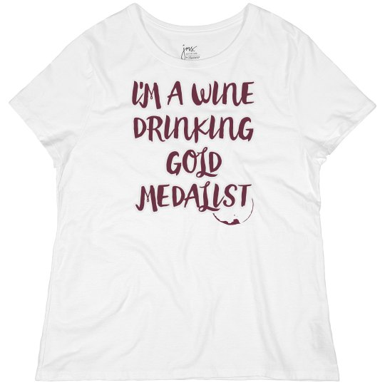 A Wine Drinking Gold Medalist