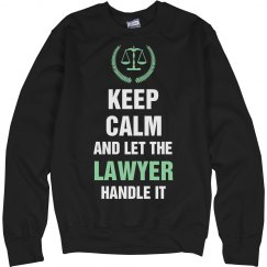 Let the lawyer handle it