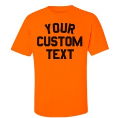 Personalized Neon Safety Tees