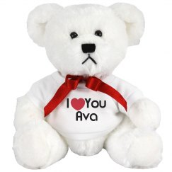 I love you ava