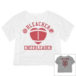 Football Bleacher Cheer Girl