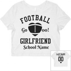 Custom Football Girlfriend