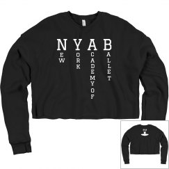 Ladies Crop Sweatshirt