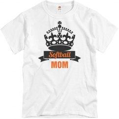 Crown Softball mom