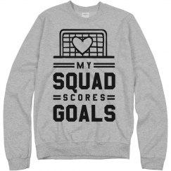 Soccer Girl Squad Scores Goals
