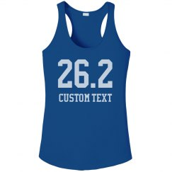 26.2 Marathon Runner Custom Race Performance Tank
