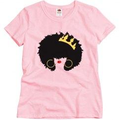African-American Black Afro Queen Black Birthday Queen