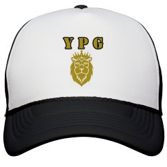 YPG YUNGBEA$T PROMO GOLD ON W&B SNAPBACK