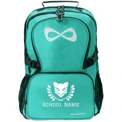 School Mascot Custom Text Backpack