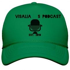 Visalia's Podcast Trucker Hat