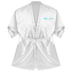 "PMG GIRLS ""ARCADIA"" SATIN ROBE"