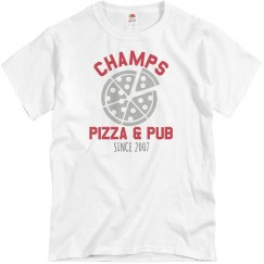 Champs 1 - Grey & Red