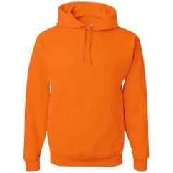Hoodie Safety Orange